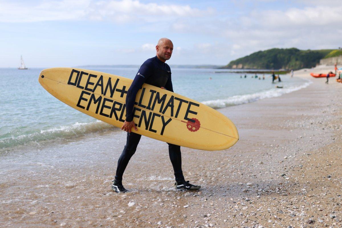 G7 Zirvesi nde iklim değişikliği protestosu #9