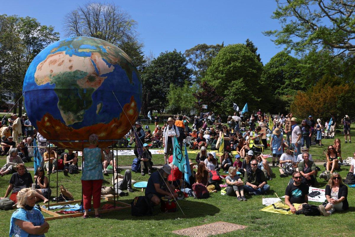 G7 Zirvesi nde iklim değişikliği protestosu #10