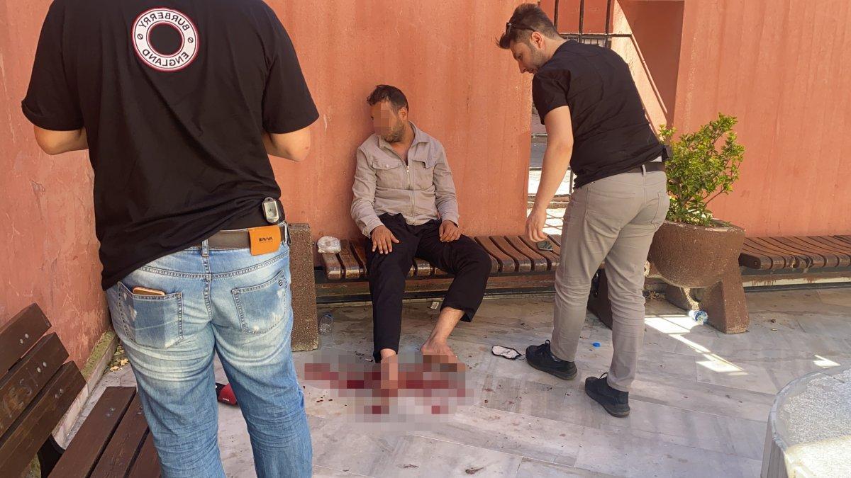 İstanbul da polis canını hiçe sayıp hayat kurtardı #3