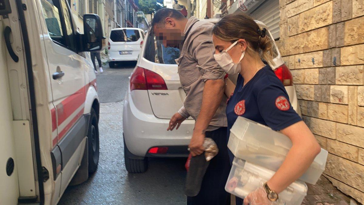 İstanbul da polis canını hiçe sayıp hayat kurtardı #5