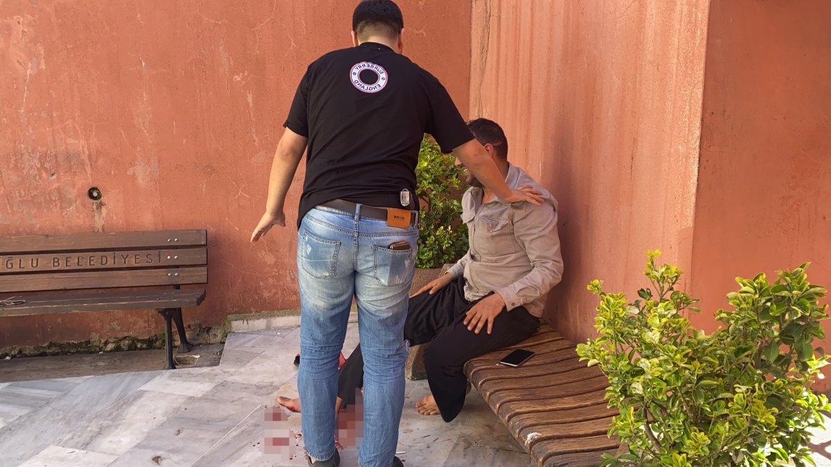 İstanbul da polis canını hiçe sayıp hayat kurtardı #2