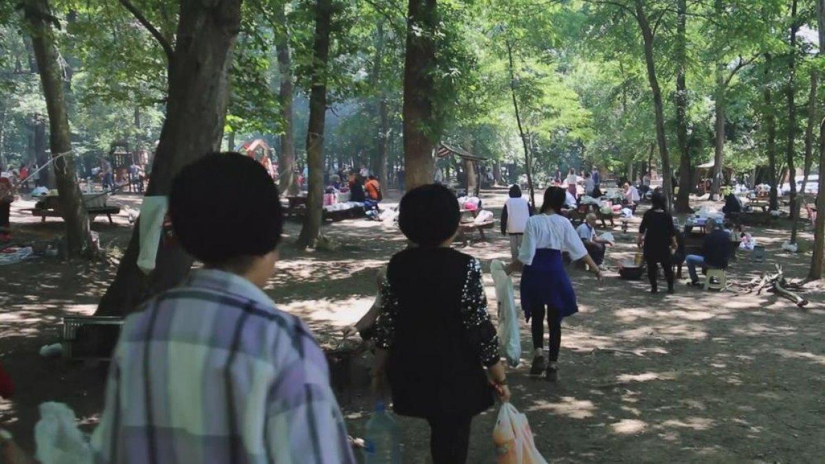 Belgrad Ormanı girişinde kilometrelerce araç kuyruğu #3