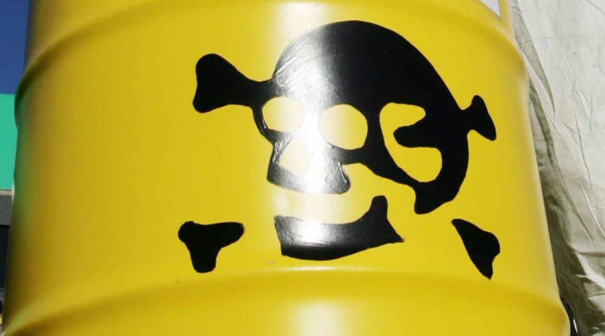 Çin de fabrikada kimyasal sızıntı #1