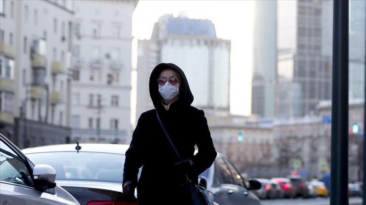 Rusya'da koronavirüs vakaları artması ile tatil ilan edildi  #2