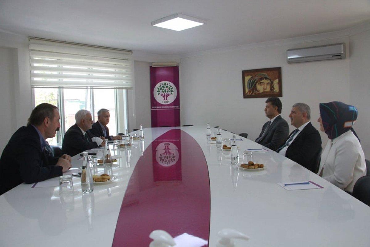 Gelecek Partisi nden HDP ye ziyaret  #1