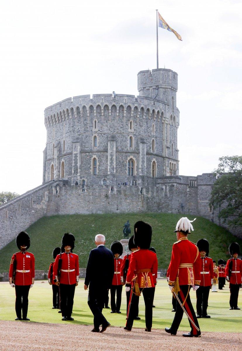 Joe Biden, İngiltere Kraliçesi II.Elizabeth ile bir araya geldi #4