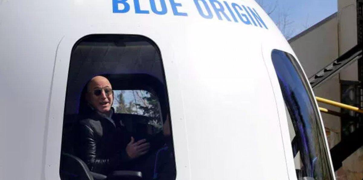 Uzay yolculuğunda Jeff Bezos un yanındaki koltuk 28 milyon dolara satıldı #2