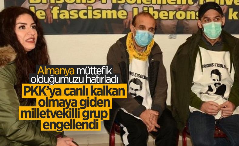 Almanya, PKK'ya canlı kalkan olmak için Erbil'e gitmek isteyen heyeti engelledi