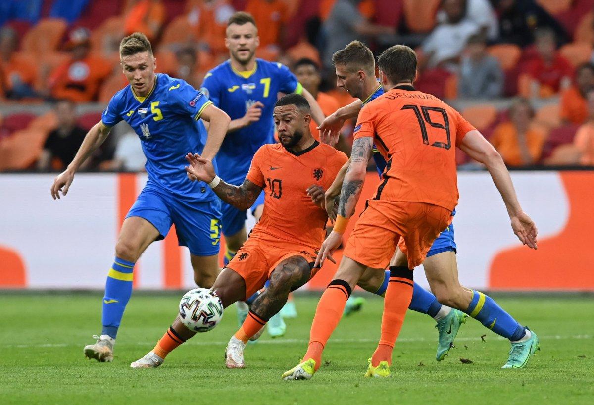 Hollanda, Ukrayna yı 3 golle mağlup etti #2