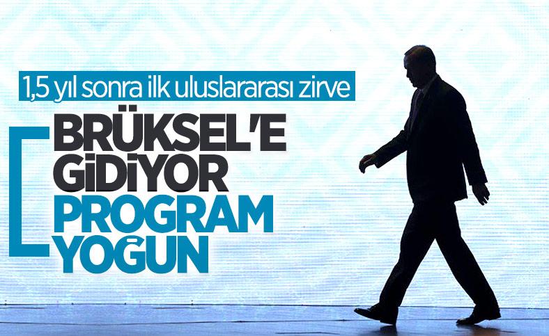 Cumhurbaşkanı Erdoğan, NATO zirvesi için Brüksel'e gidecek