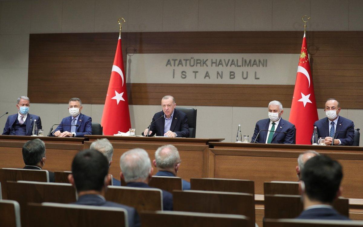 Cumhurbaşkanı Erdoğan, Afrin deki kalleş saldırıyı kınadı #2