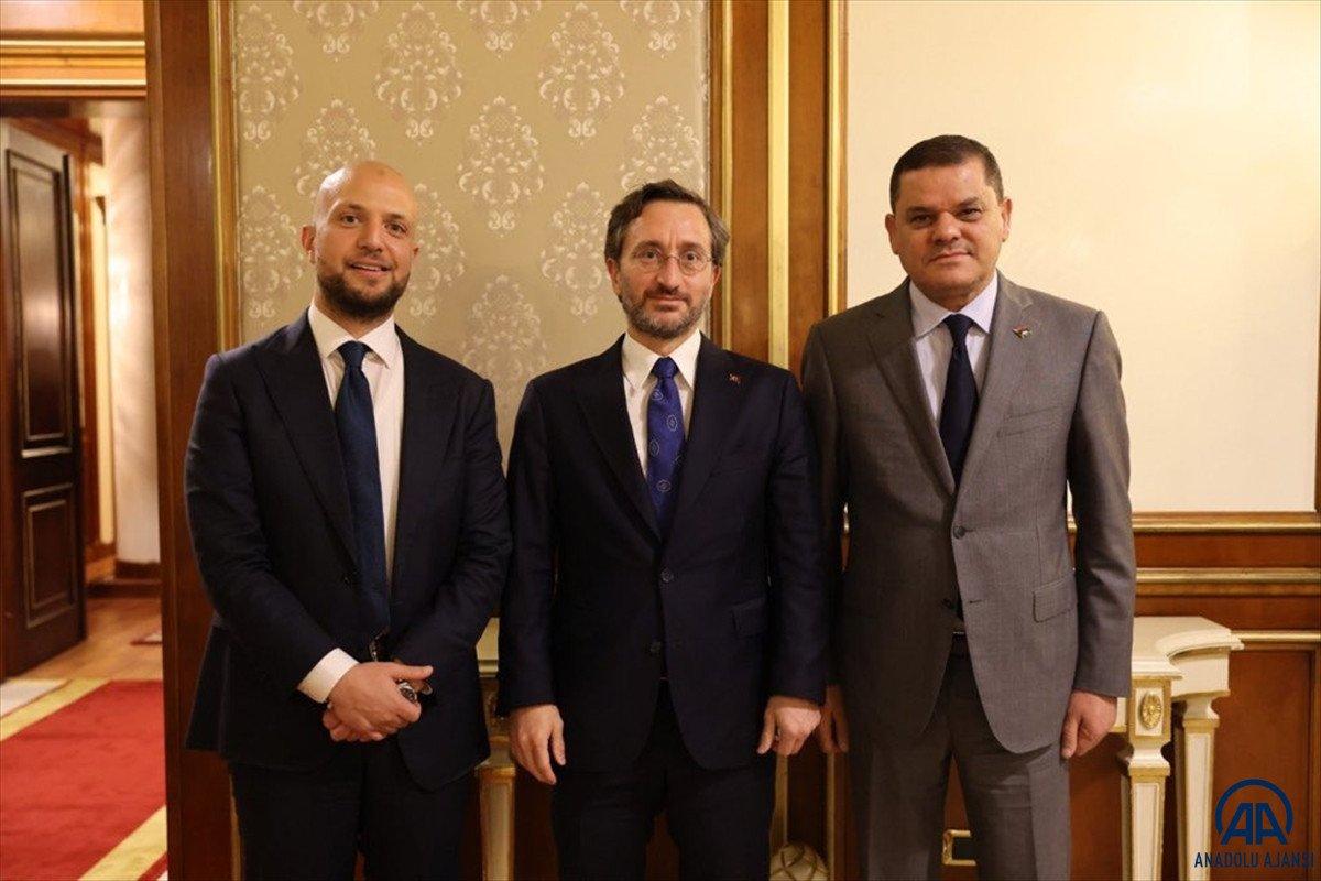 İletişim Başkanı Altun Libya ziyaretini değerlendirdi #2