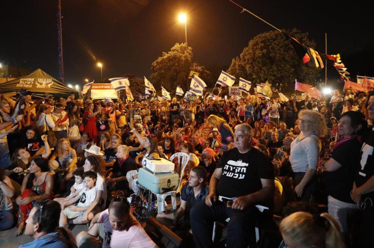 İsrailliler Netanyahu döneminin kapanışını kutladı #2