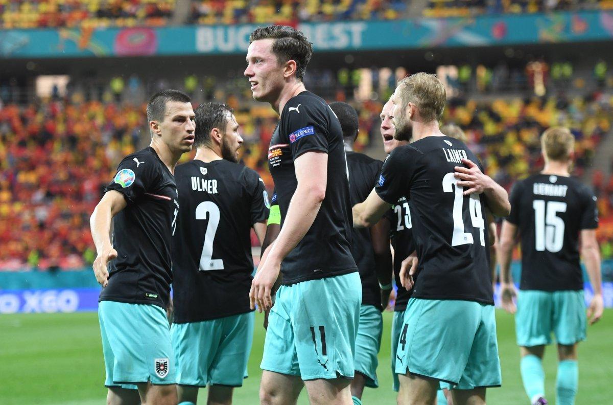 Avusturya, Kuzey Makedonya yı 3 golle mağlup etti #2