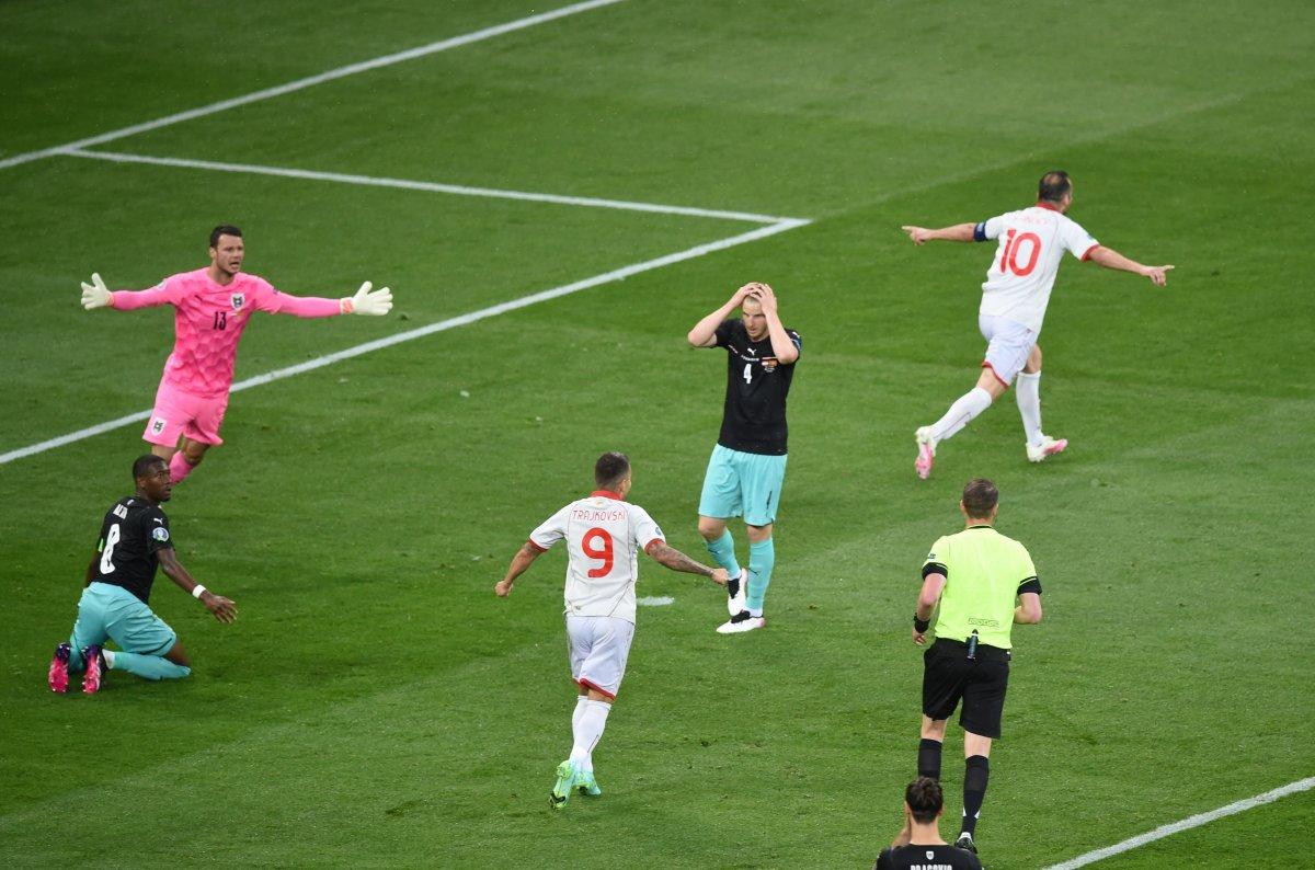 Avusturya, Kuzey Makedonya yı 3 golle mağlup etti #3