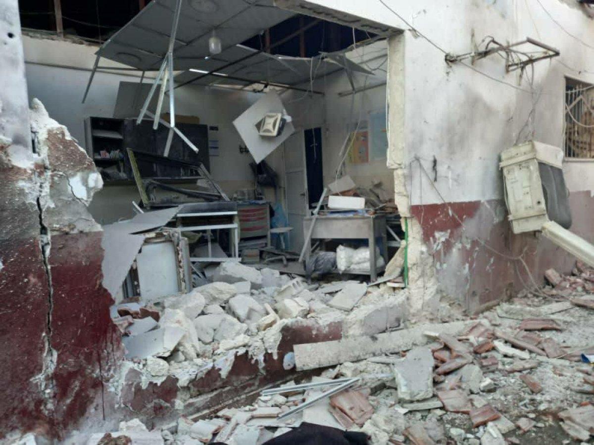 TSK, Tel Rıfat ta teröristlere ait hedefleri vurdu #2