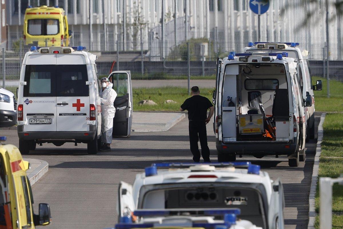 Moskova da yapılan aşılama kampanyasında, ödül araba #5