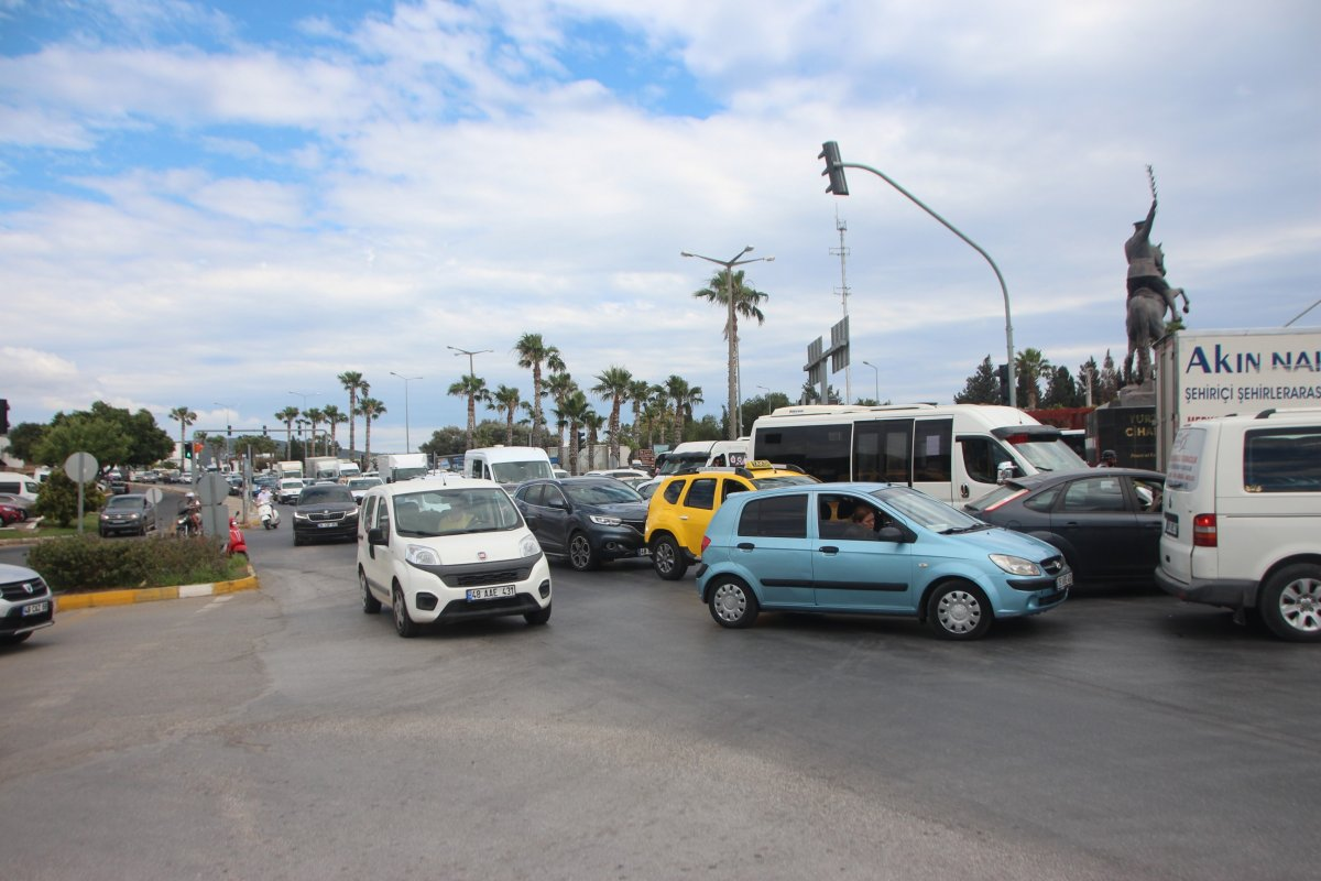 Bodrum da trafik yoğunluğu  #6