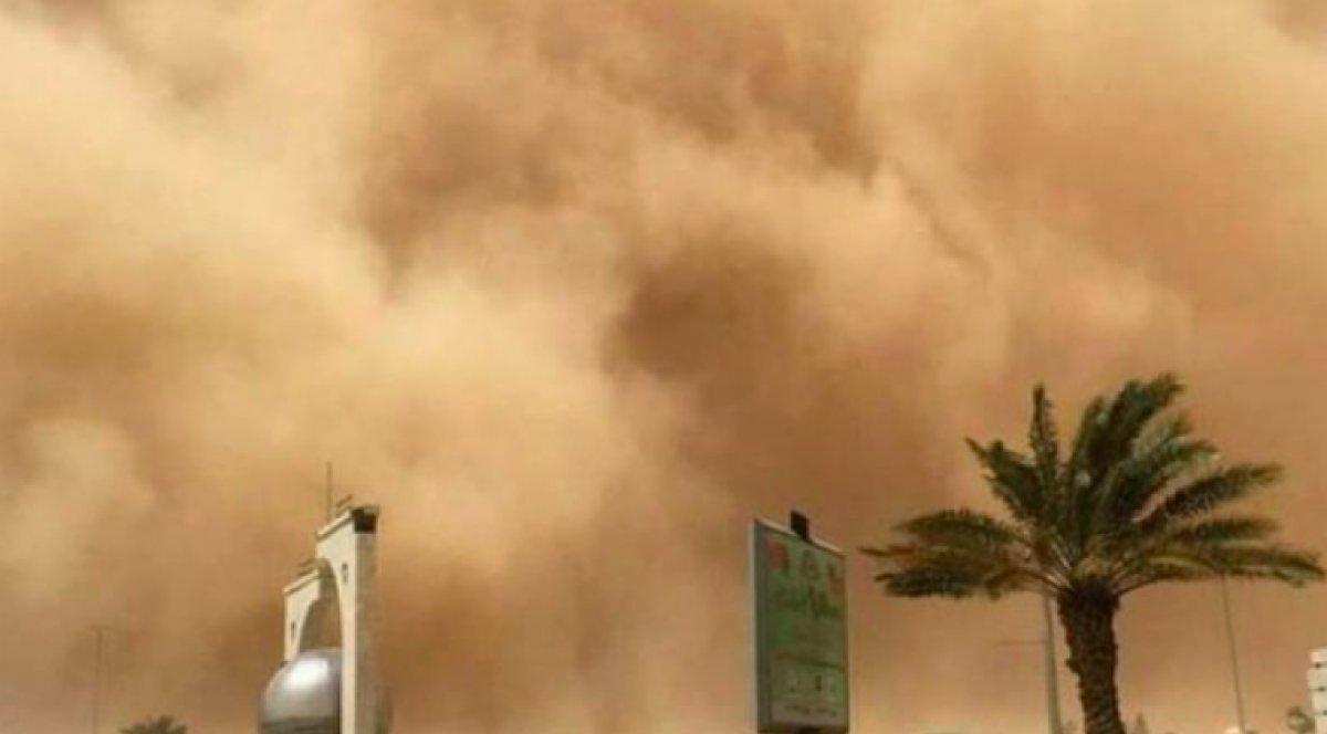 Kuveyt'te kum fırtınası #1