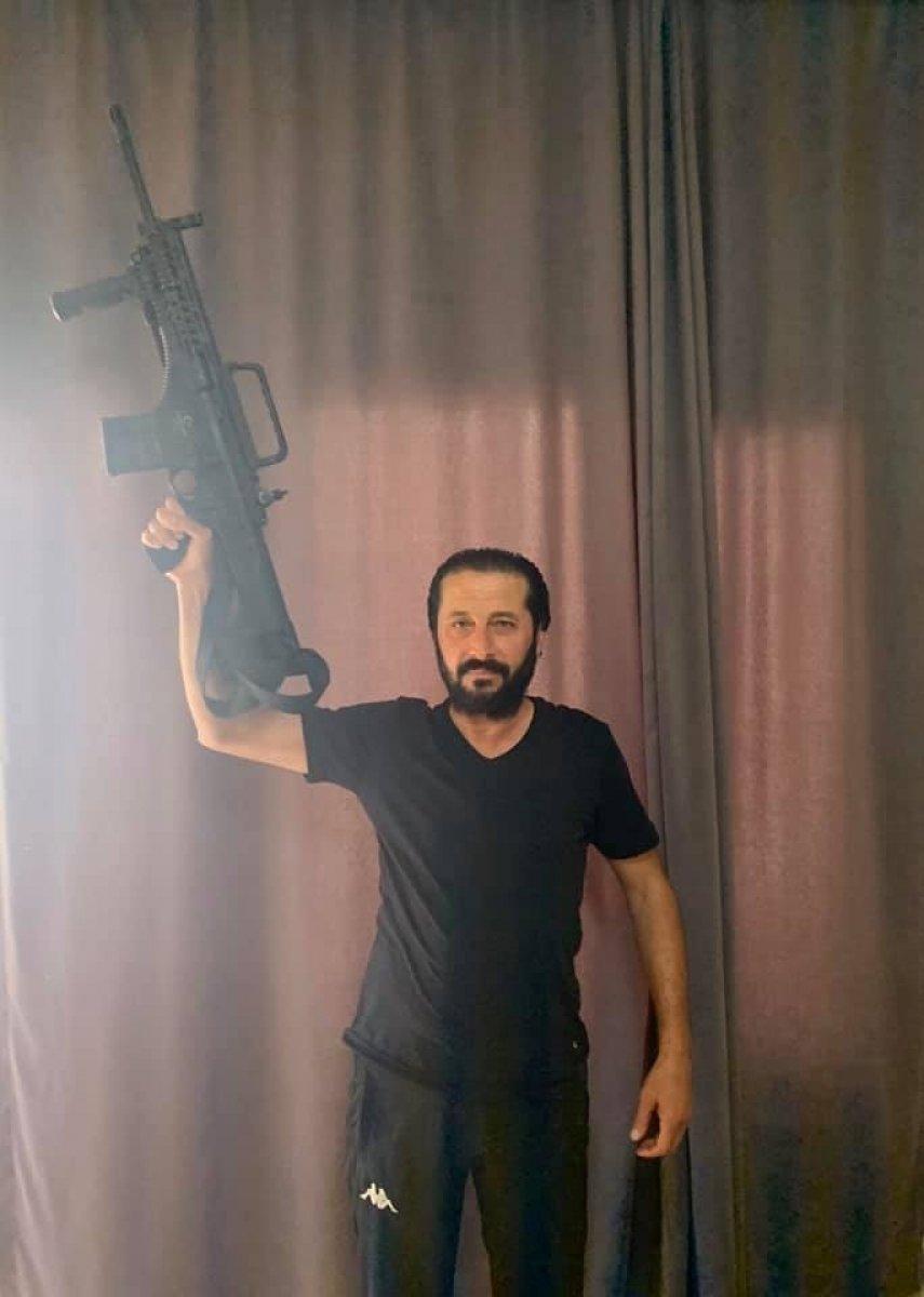 Konya da market sahibinin öldürülmesi güvenlik kamerasında #2