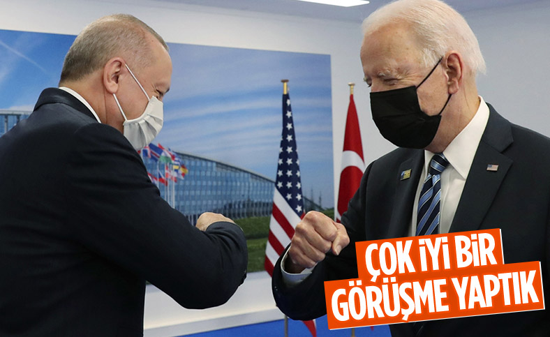 Joe Biden: Erdoğan ile çok iyi bir görüşme yaptık
