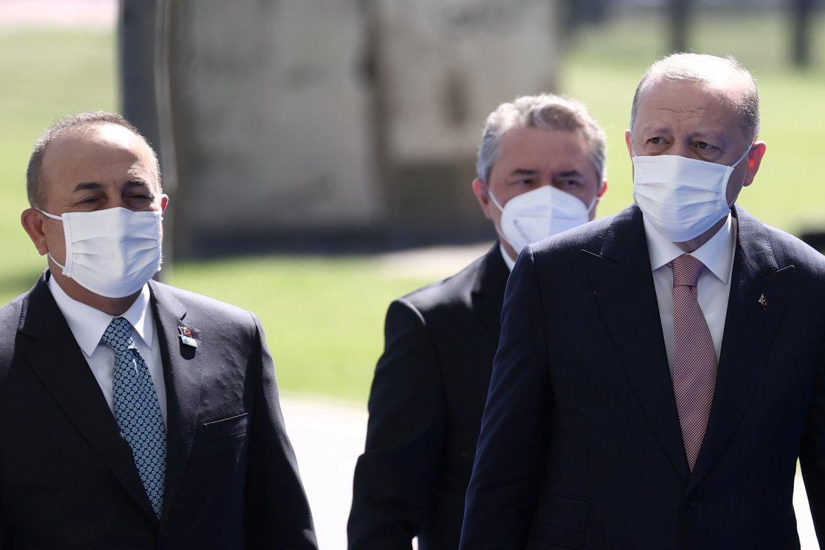 Cumhurbaşkanı Erdoğan, NATO karargahında #8