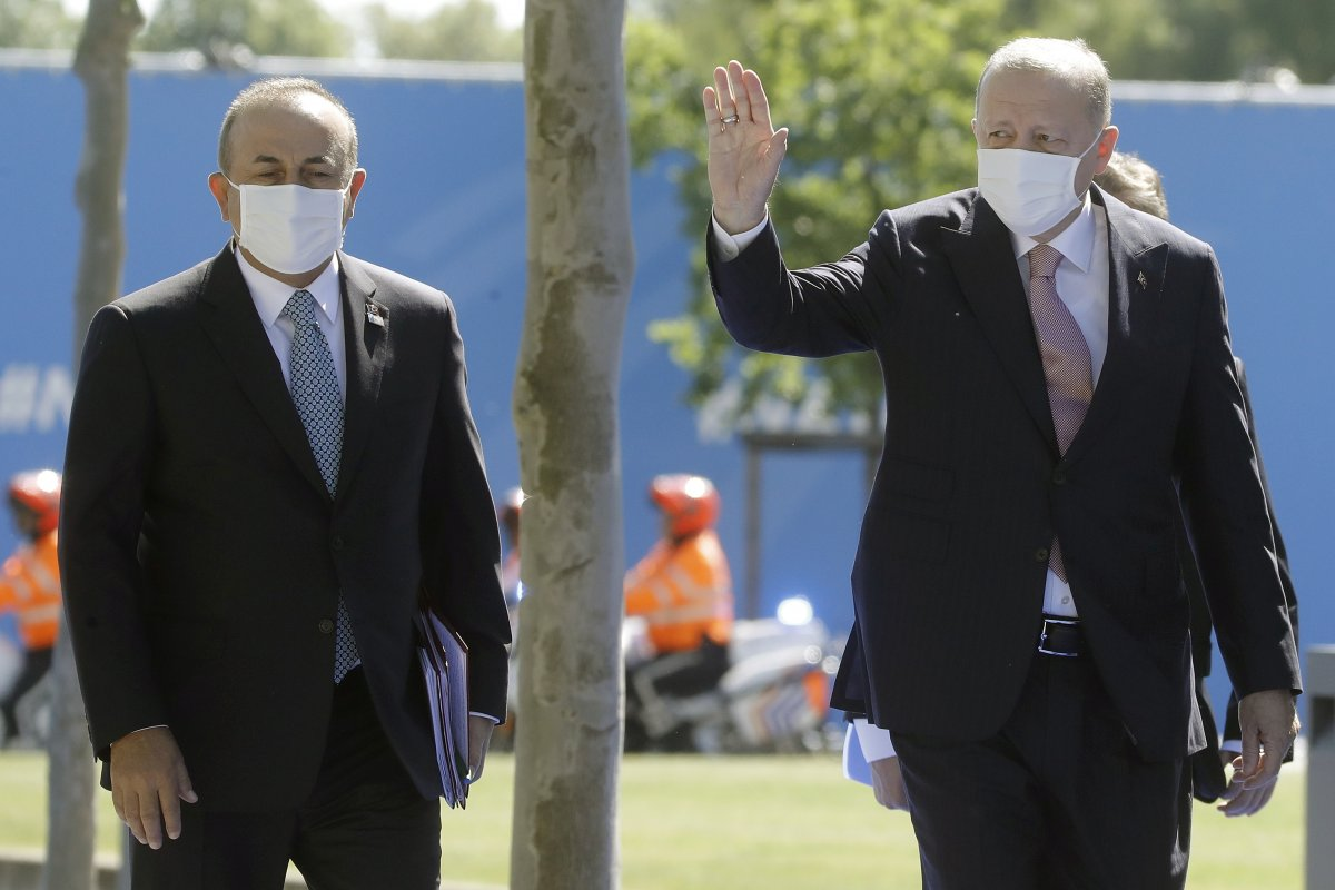 Cumhurbaşkanı Erdoğan, NATO karargahında #10