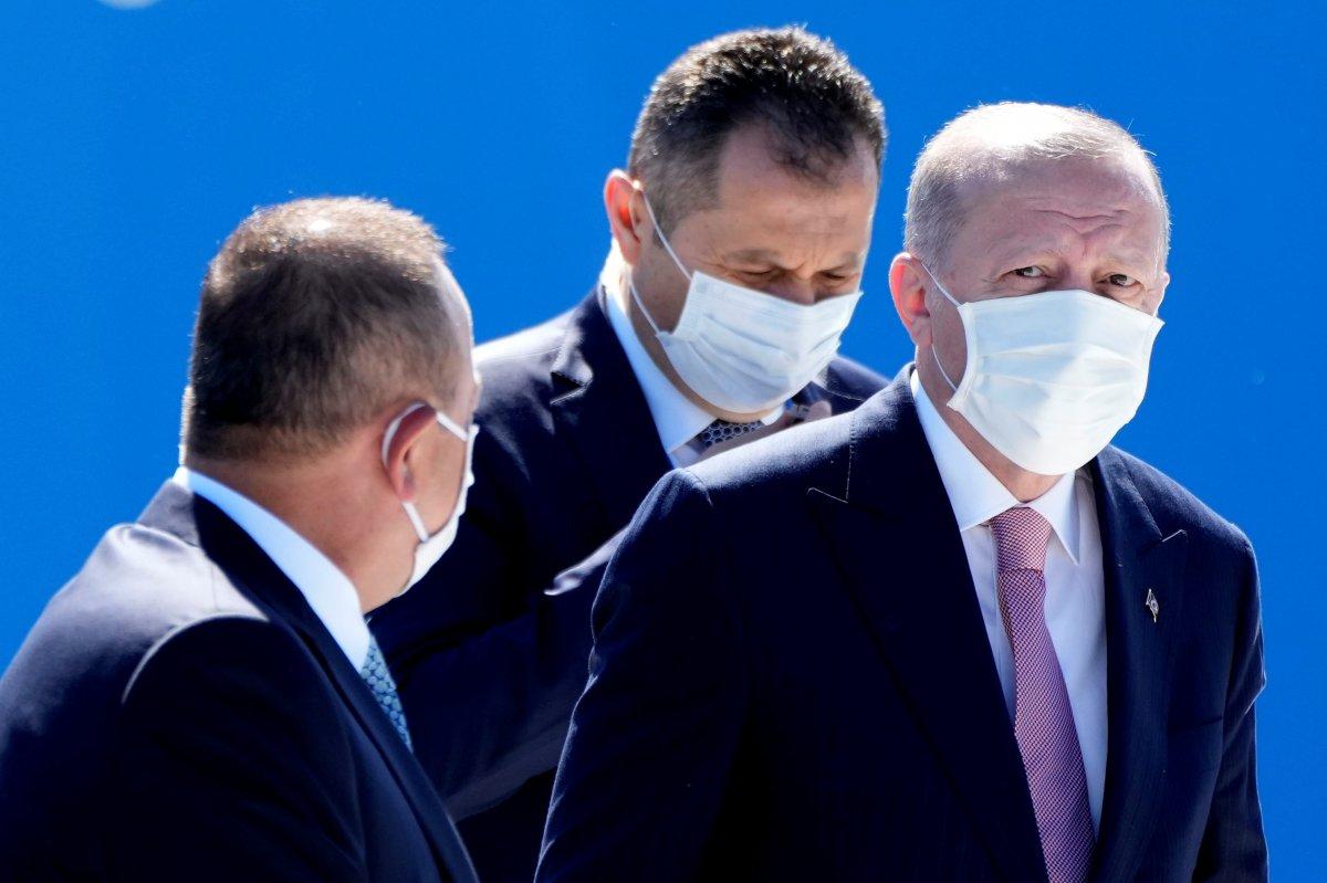 Cumhurbaşkanı Erdoğan, NATO karargahında #3