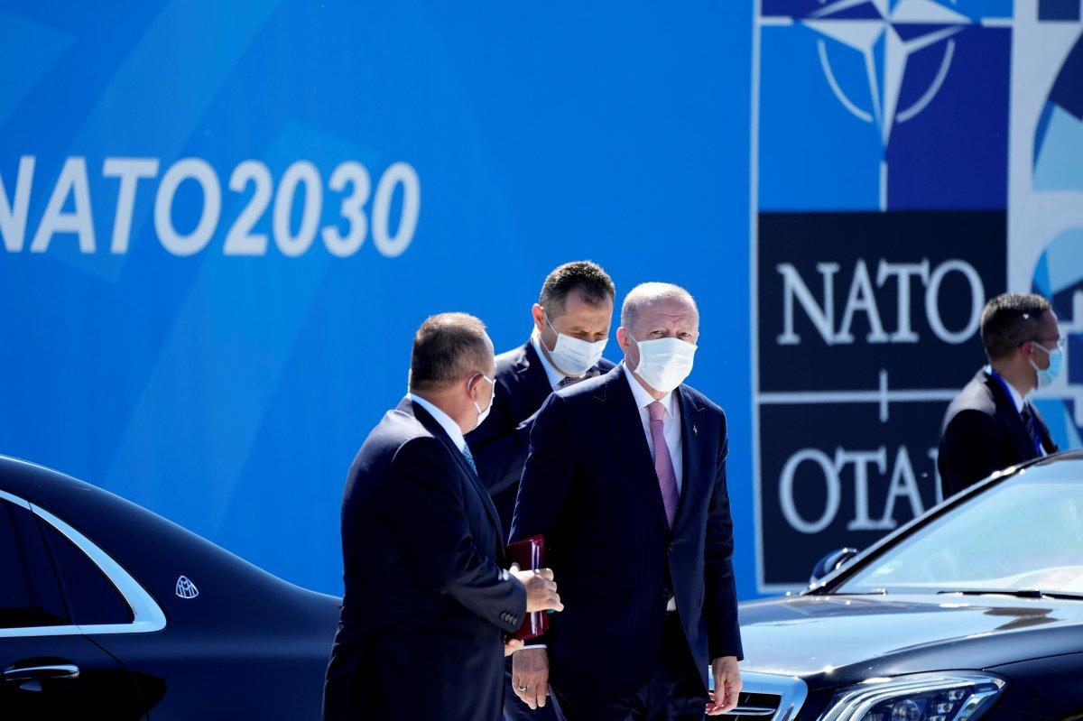 Cumhurbaşkanı Erdoğan, NATO karargahında #4