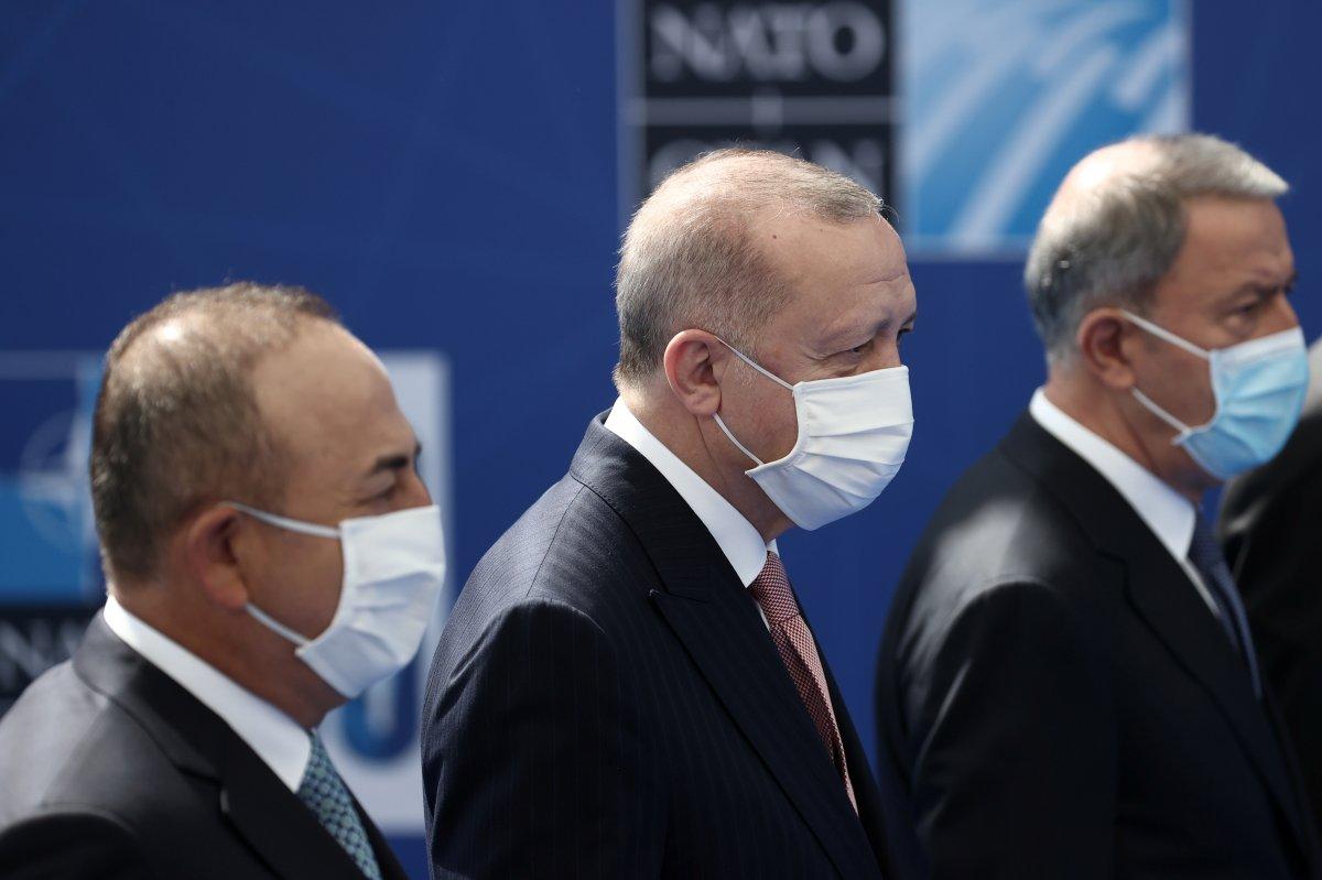 Cumhurbaşkanı Erdoğan, NATO karargahında #5