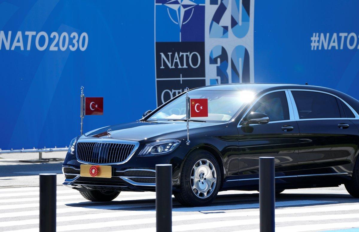 Cumhurbaşkanı Erdoğan, NATO karargahında #9