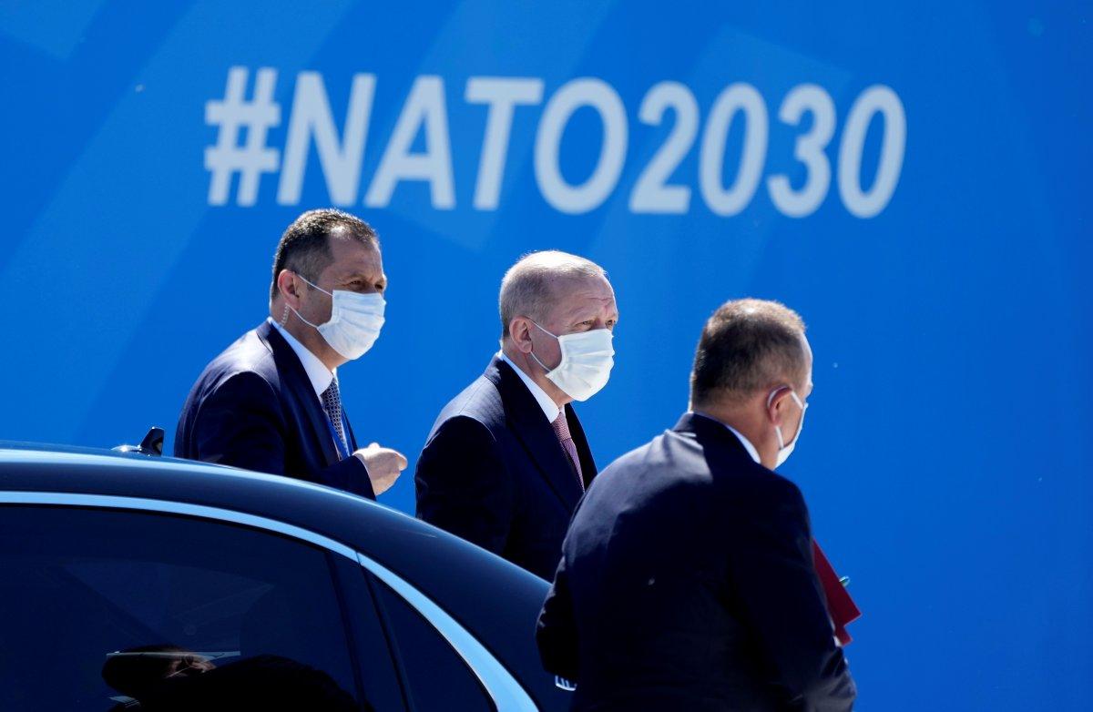 Cumhurbaşkanı Erdoğan, NATO karargahında #2