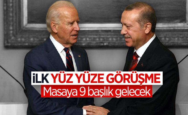 Kritik gün: Erdoğan, Biden ile bir araya gelecek