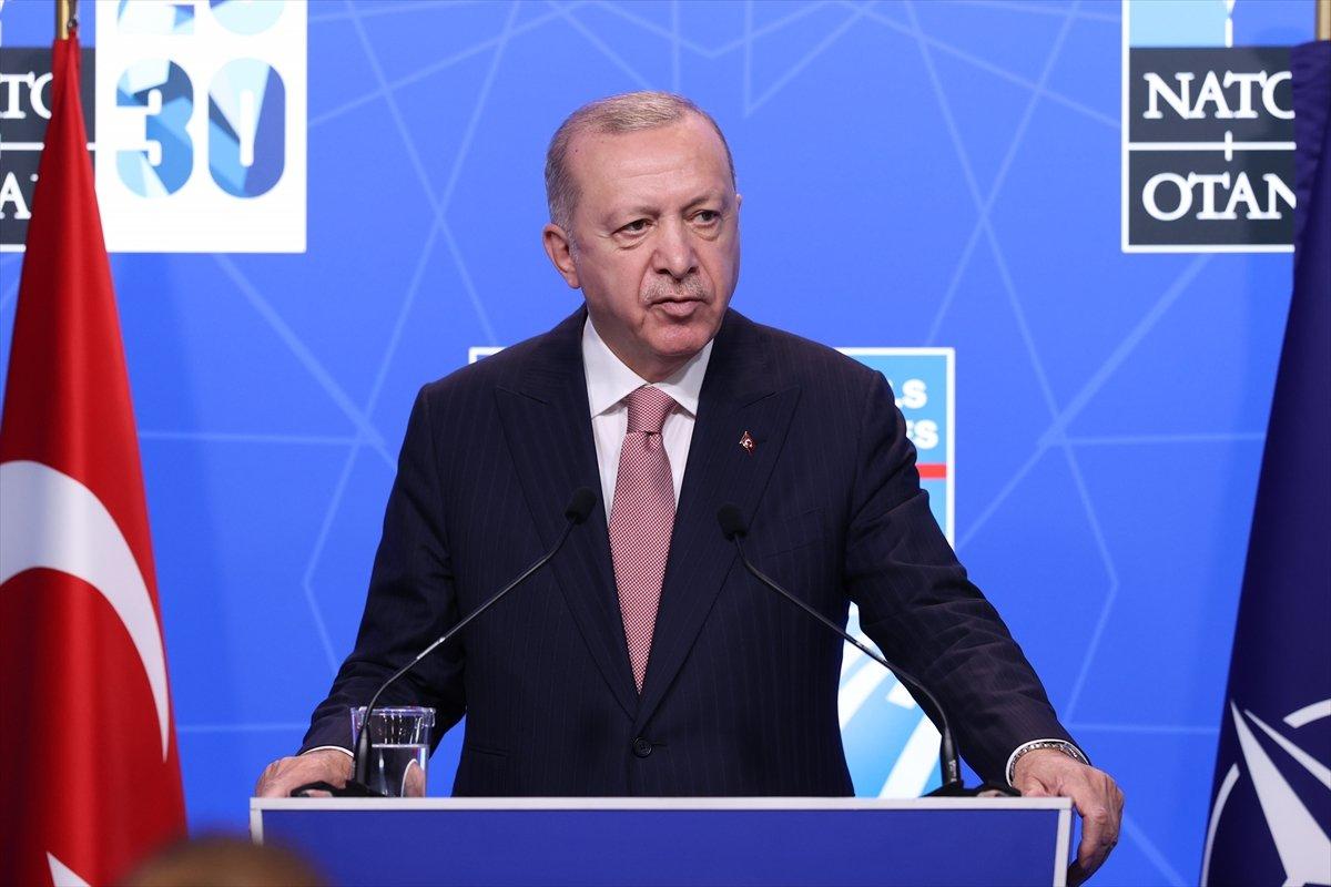 Cumhurbaşkanı Erdoğan: Terör örgütlerine verilen destek sonlandırılmalı #2