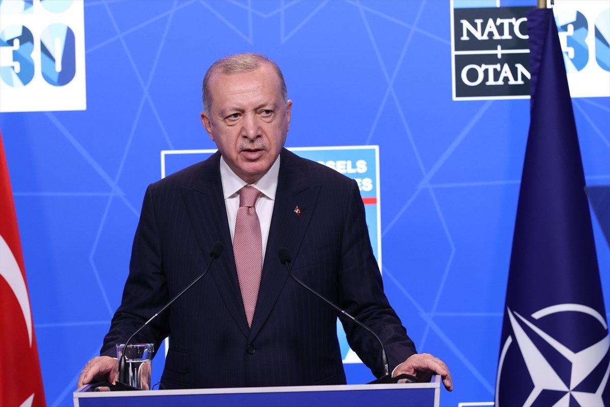 Cumhurbaşkanı Erdoğan dan Yunanistan a ilişkin: Üçüncü ülke ve kişileri işe karıştırmayalım #1