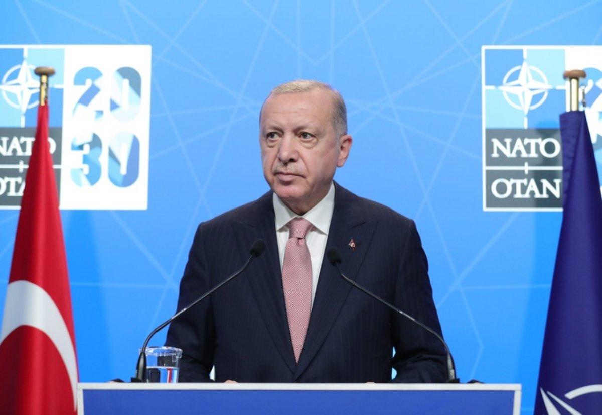 Cumhurbaşkanı Erdoğan: Biden ı Türkiye ye davet ettim #1