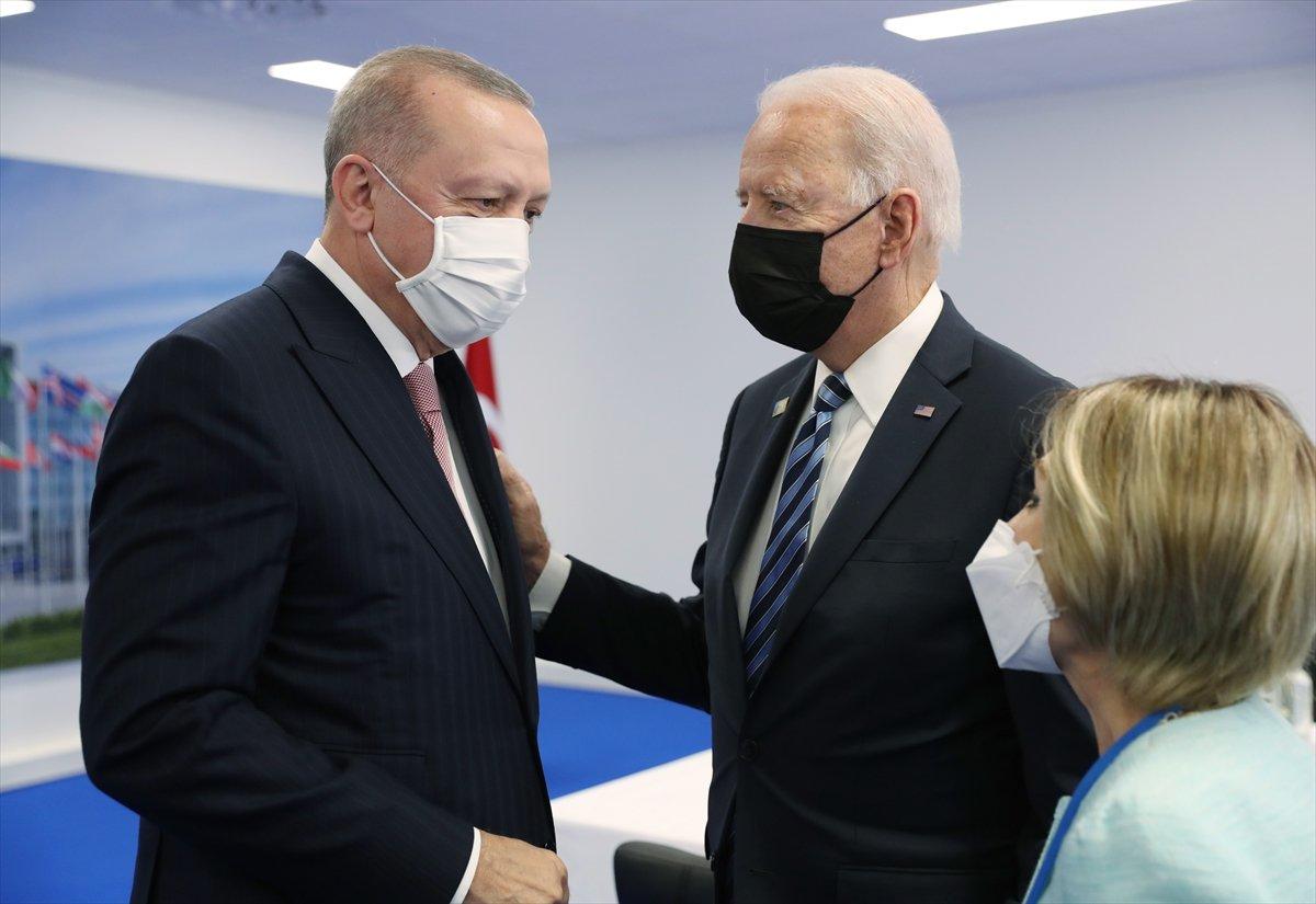 Cumhurbaşkanı Erdoğan ile Joe Biden görüşmesi #3