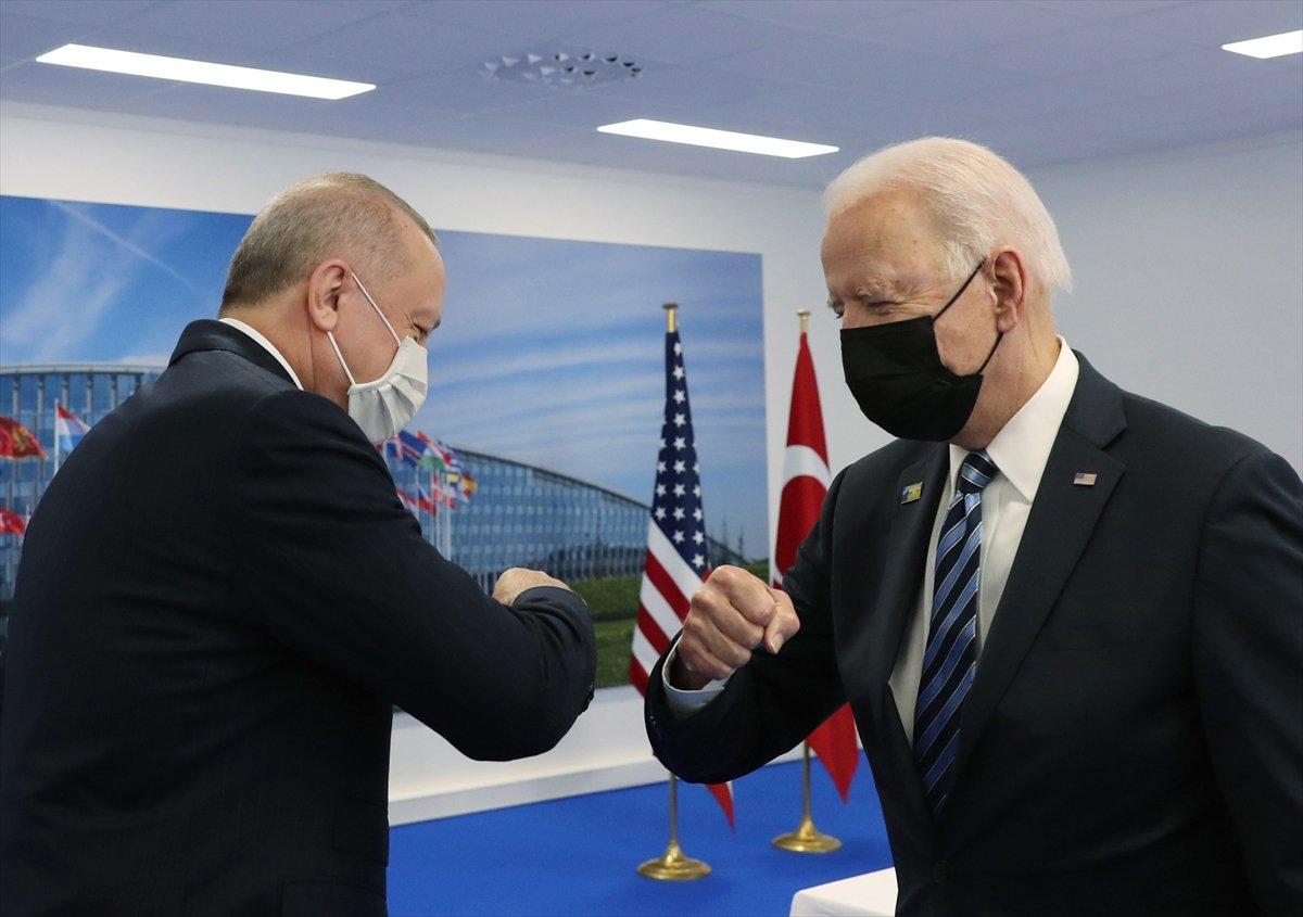 Cumhurbaşkanı Erdoğan ile Joe Biden görüşmesi #2