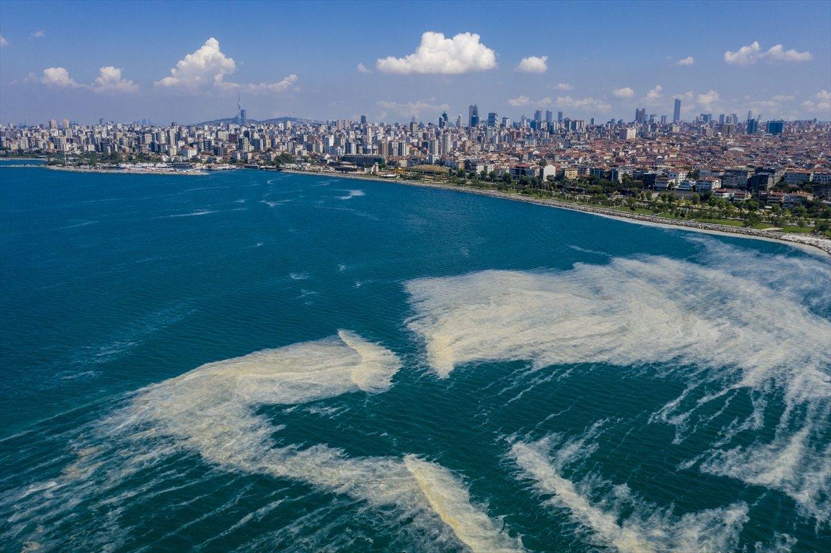 Marmara Denizi nden 5 günde 1700 metreküp müsilaj temizlendi #3