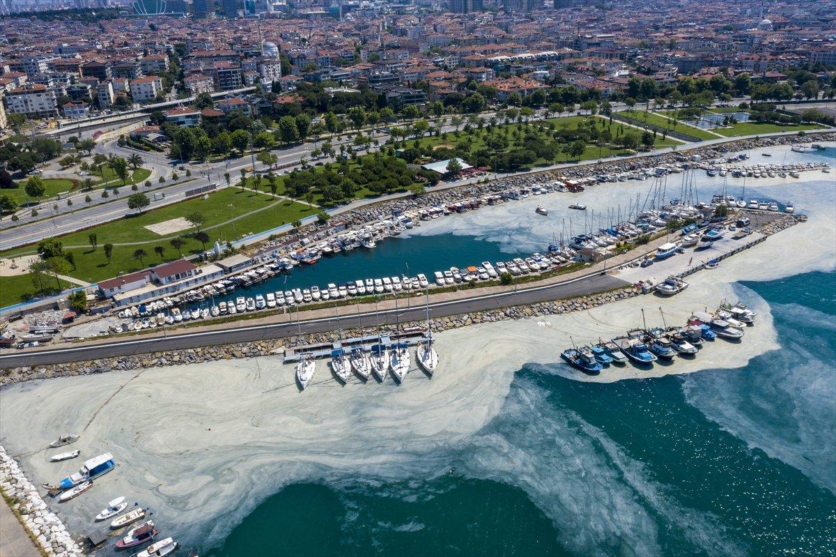 Marmara Denizi nden 5 günde 1700 metreküp müsilaj temizlendi #2