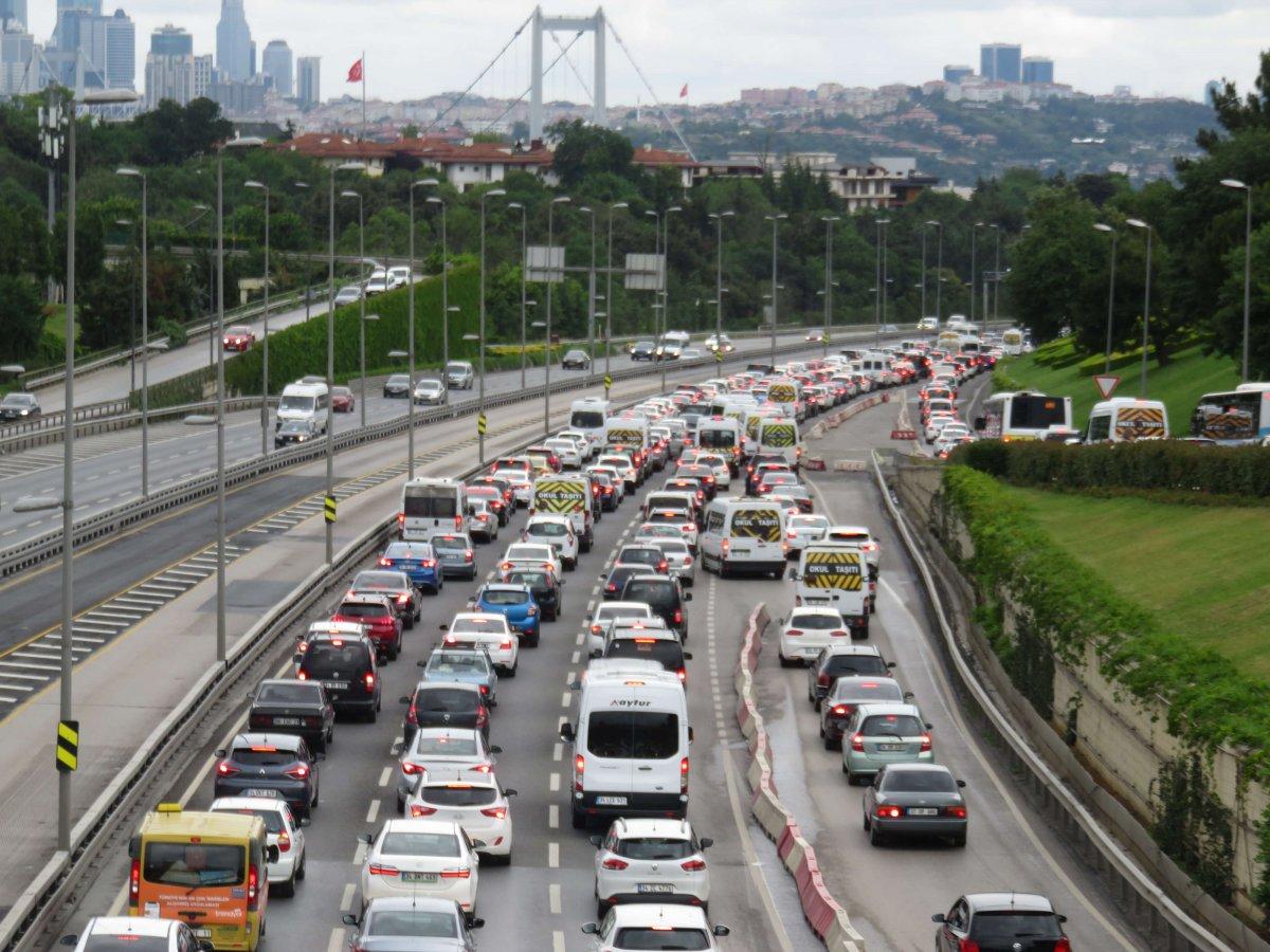 İstanbul'da pazartesi trafiği #1