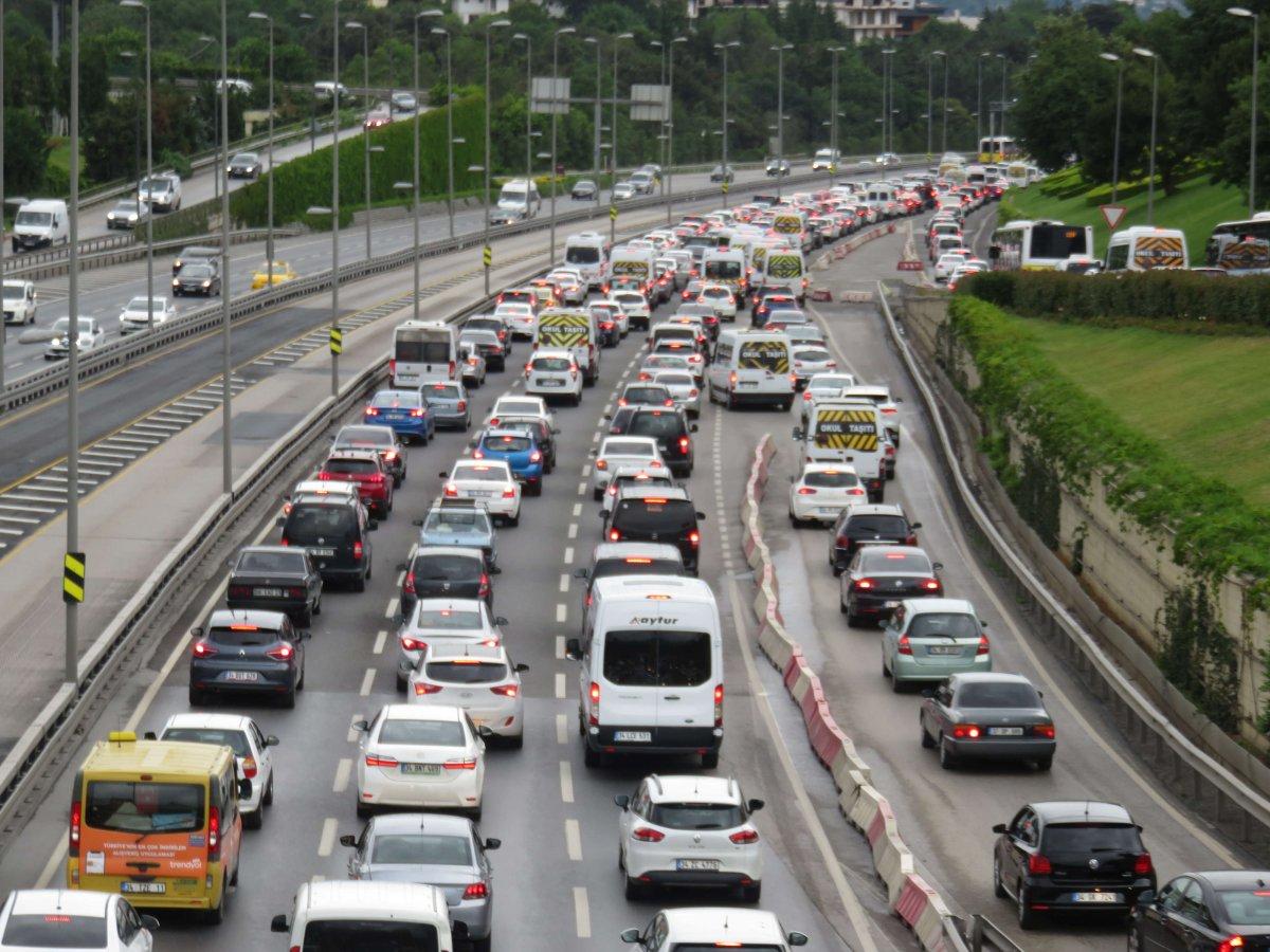 İstanbul'da pazartesi trafiği #3