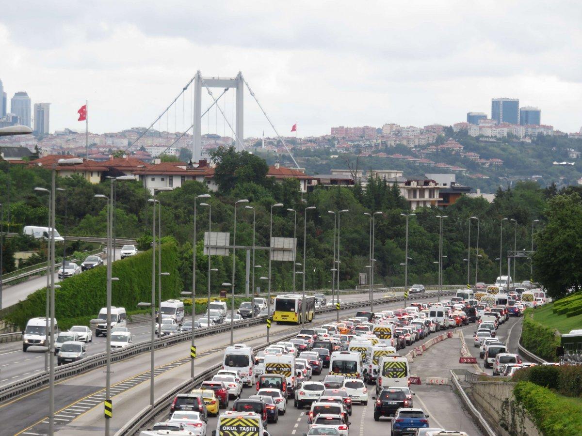 İstanbul'da pazartesi trafiği #2