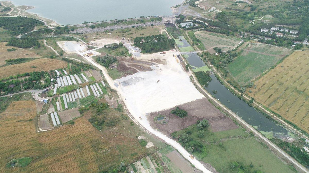 Kanal İstanbul da ilk köprünün yapılacağı alan görüntülendi  #3
