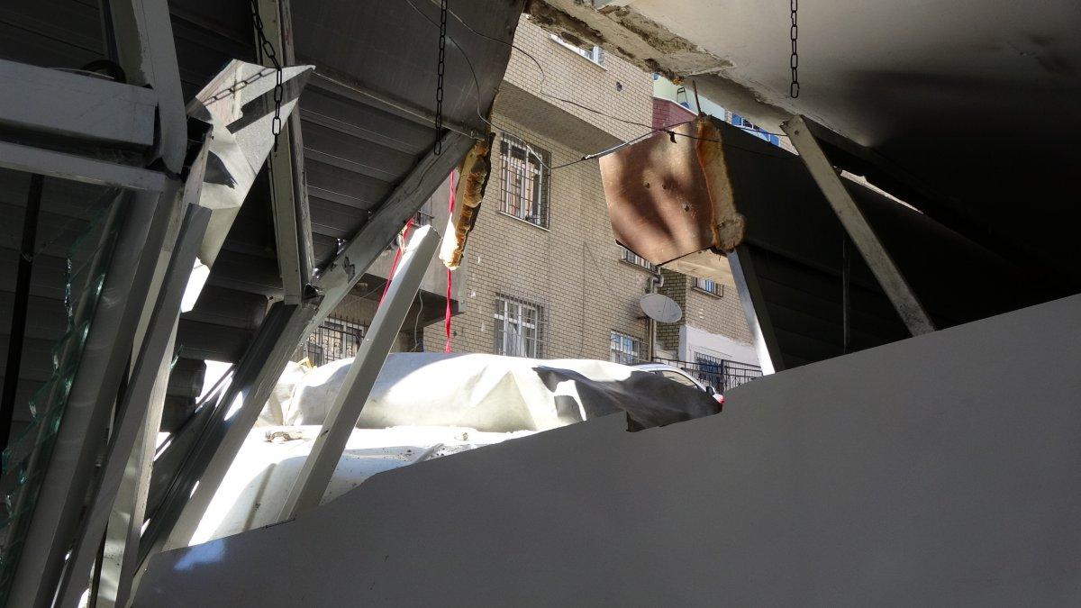 Sultangazi'de kayan kamyonet, kaldırımda yürüyen kadına çarptı  #6