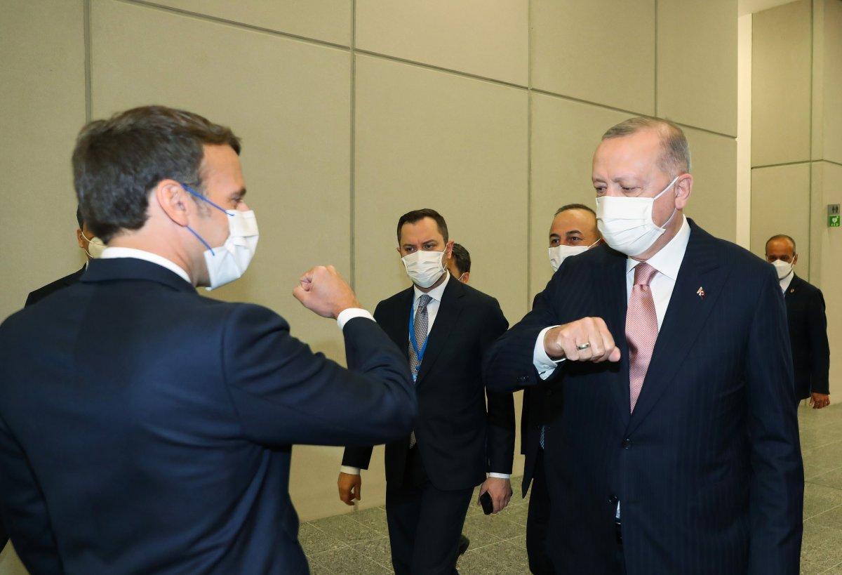 Cumhurbaşkanı Erdoğan dan Macron açıklaması #2