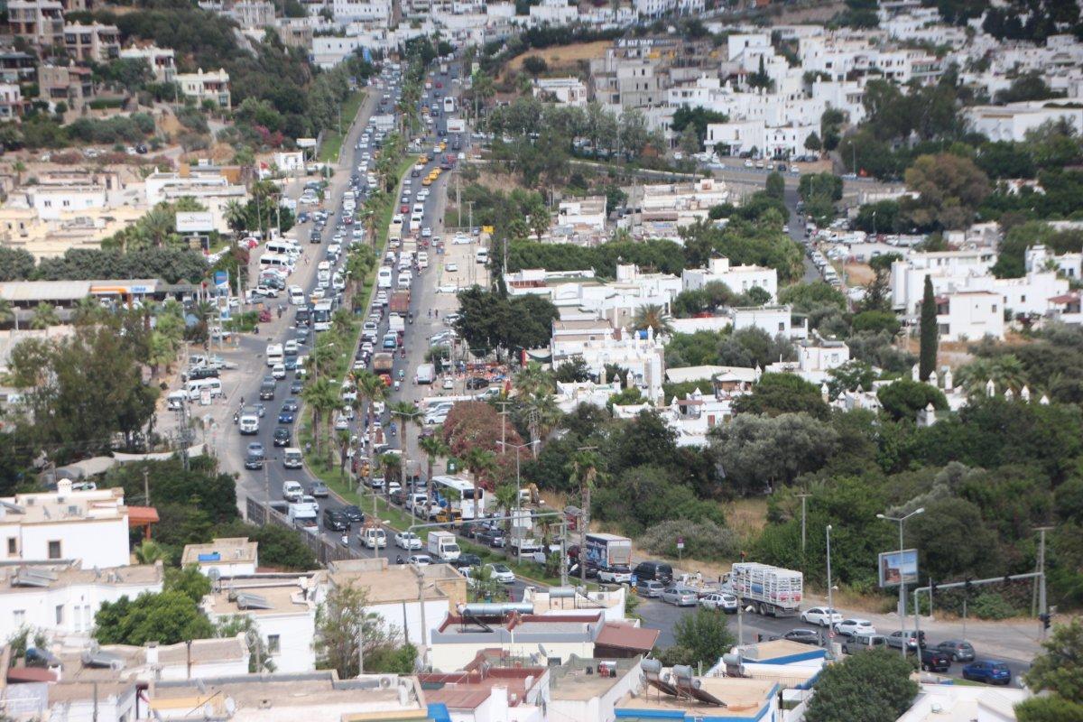 Bodrum da trafik yoğunluğu  #2