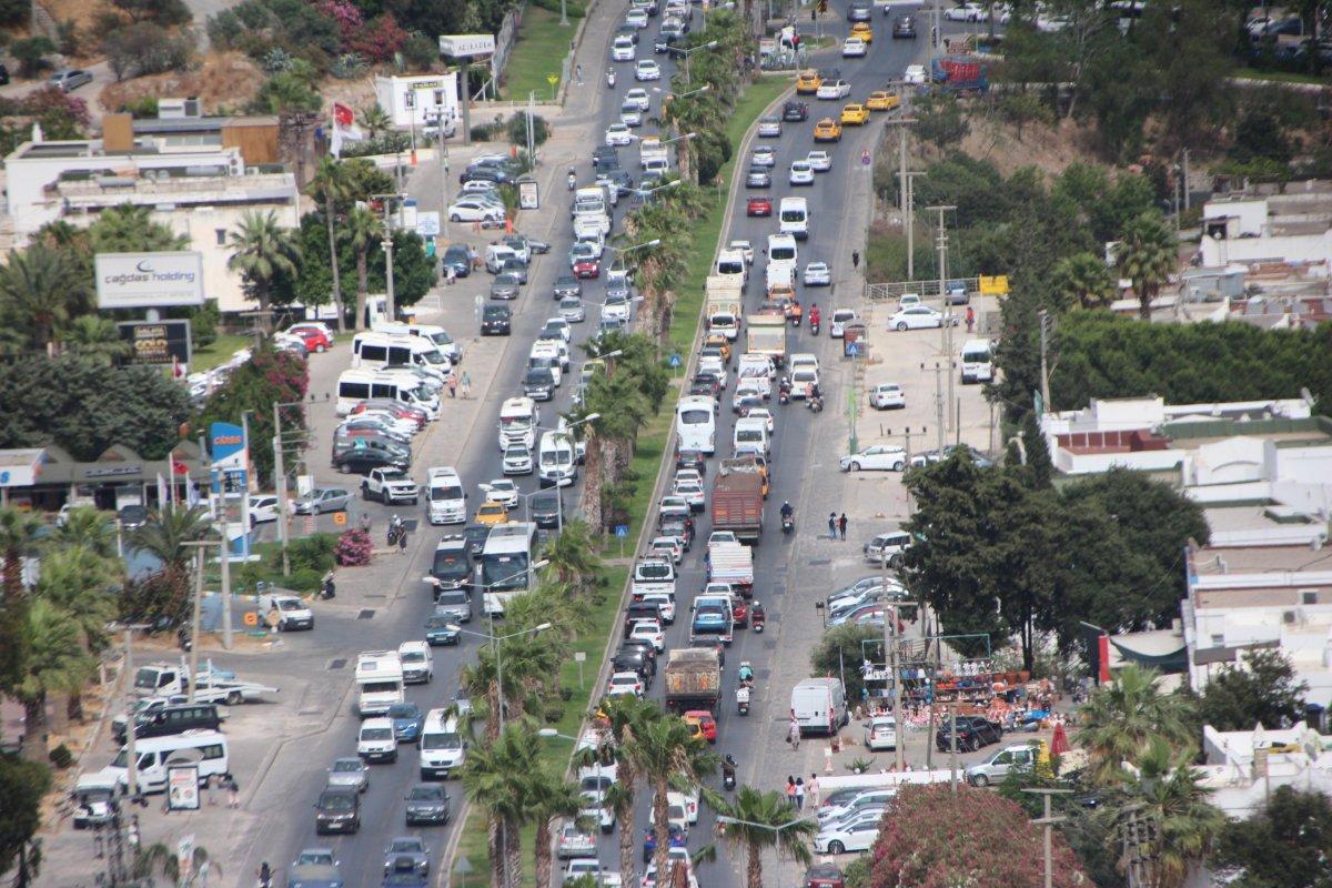 Bodrum da trafik yoğunluğu  #1