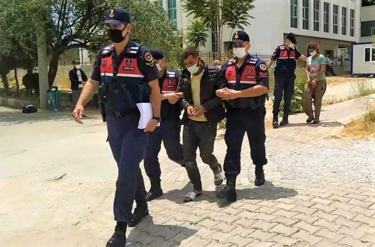 Denizli de hırsız sevgililer, çaldıkları 70 bin liralık kabloyu eritirken yakalandı #1