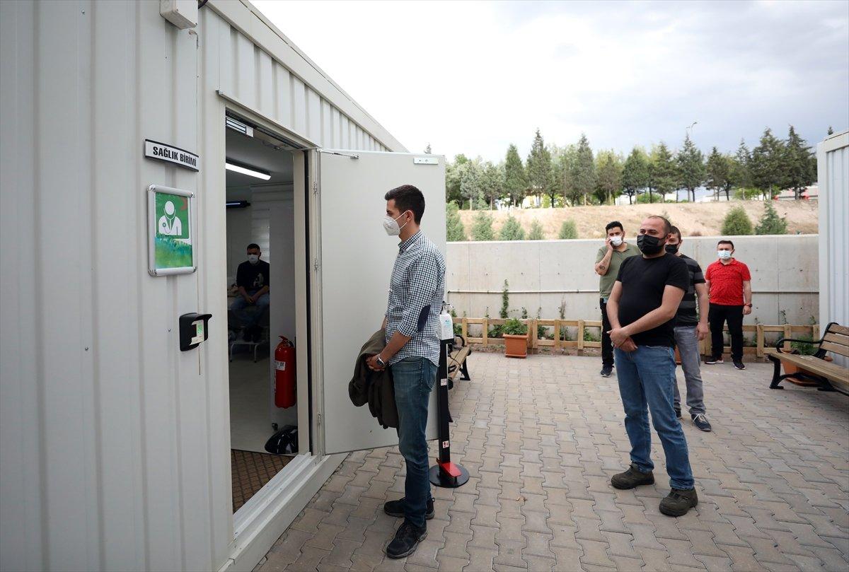 Ankara da mobil sağlık ekipleri  yerinde aşı  uygulamasını başlattı #5